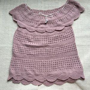 Vintage 70s Crochet Top